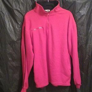 Old Skool Urban Wear red  fleece pullover M